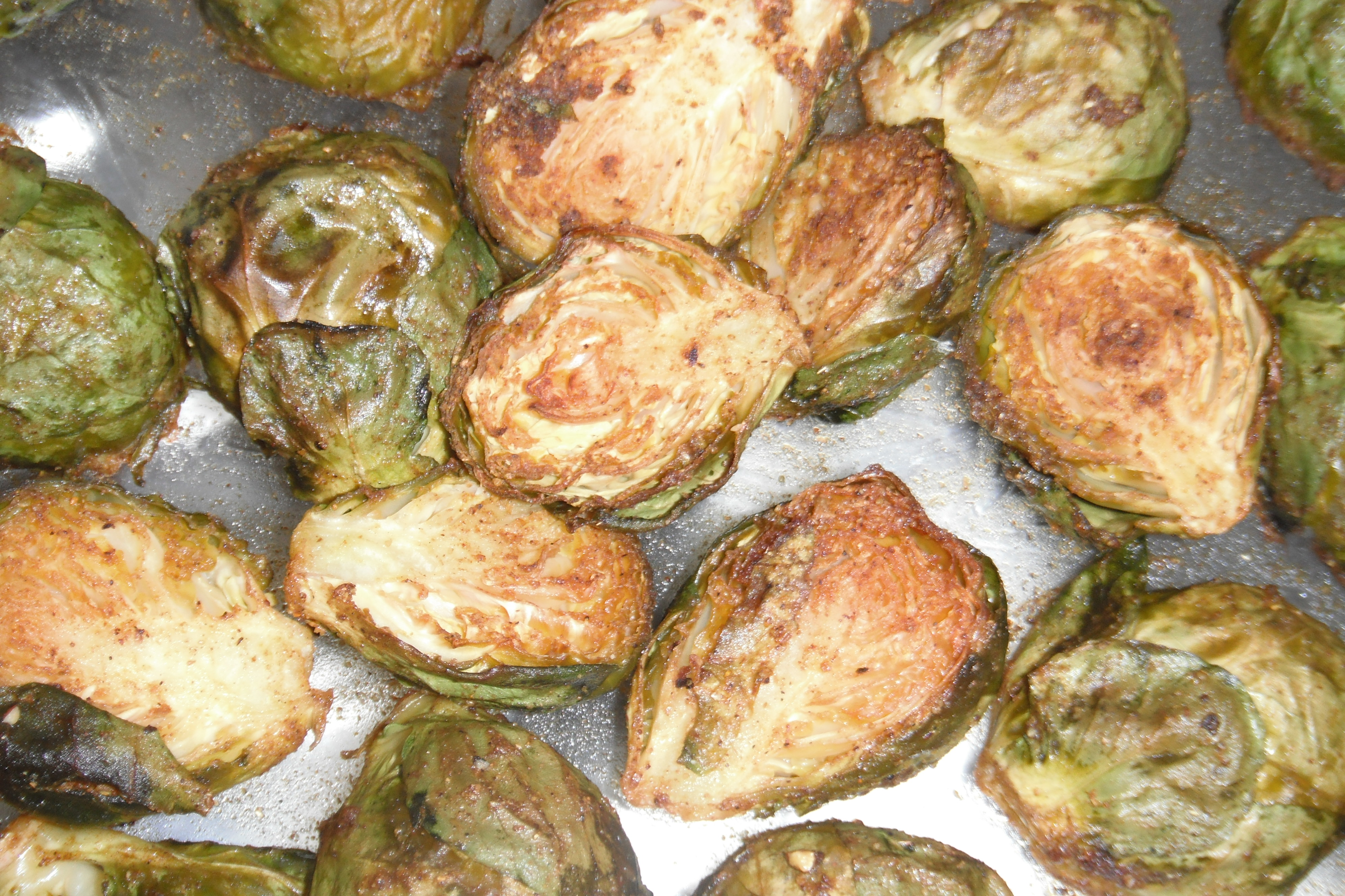 Keto Roast Brussels Sprouts