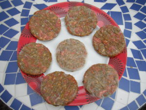 how to freeze home made hamburger patties