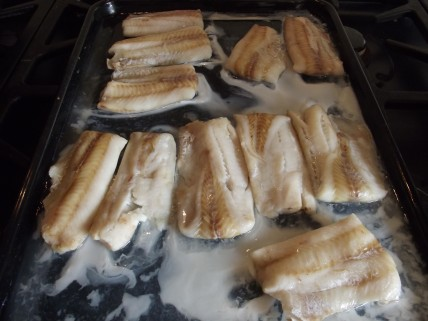 Fish fillets - cooked
