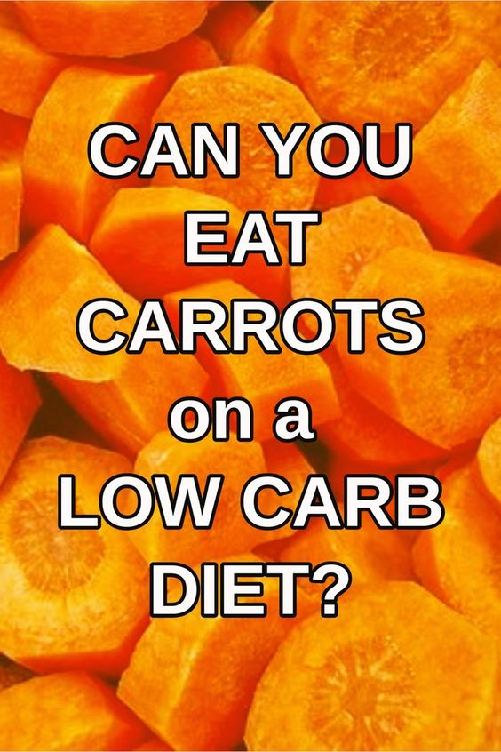 can i eat carrots on a keto diet