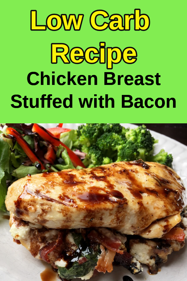 easy low carb stuffed chicken breast recipe