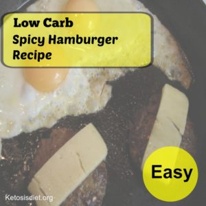 low carb hamburger recipes