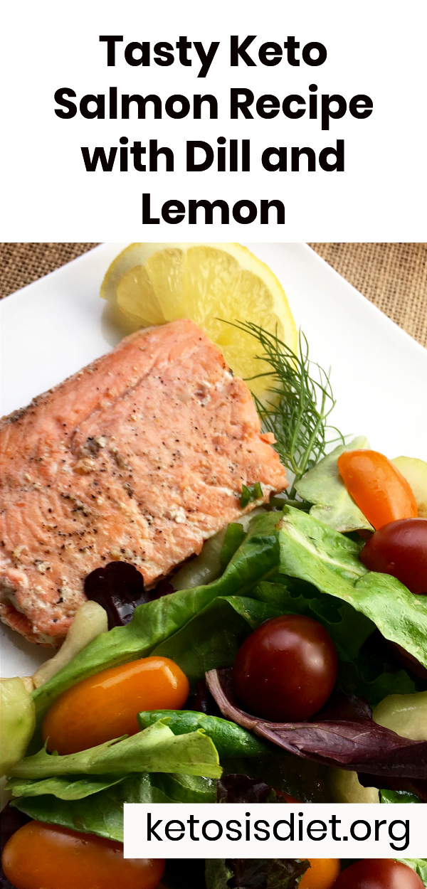 low carb salmon recipe with dill ad lemon