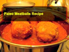 paleo meatballs recipe