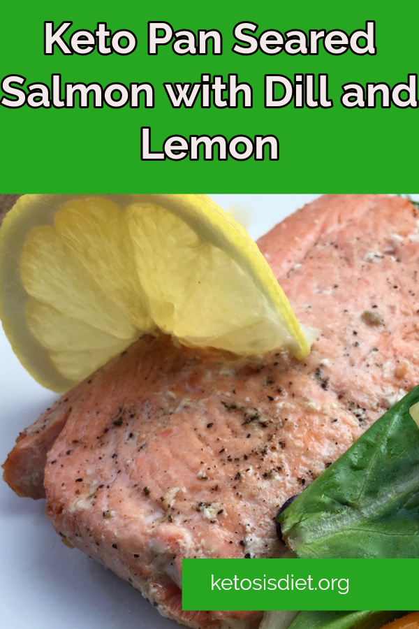 pan seared salmon with dill and lemon